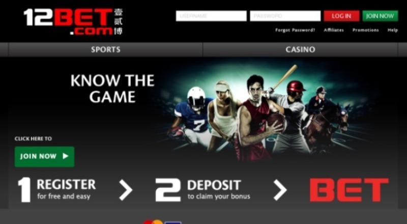 12Bet Taruhan Olahraga & Casino Online