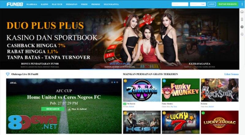 Fun88 Judi Online Indonesia