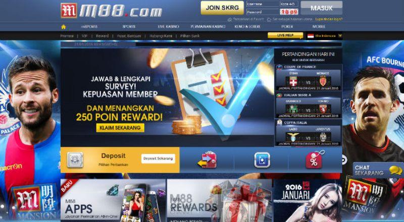 M88 Bandar Judi Online