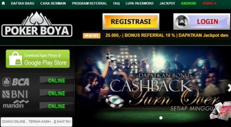 Cara Daftar PokerBoya Online